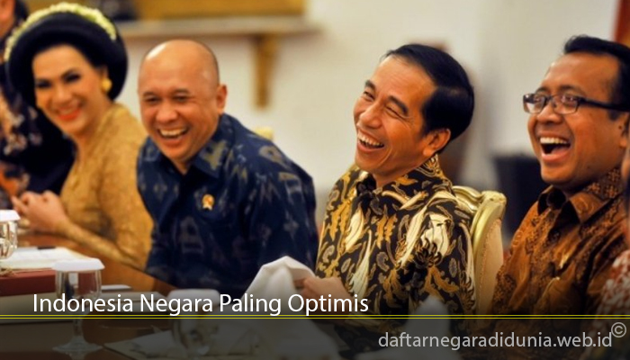 Indonesia Negara Paling Optimis